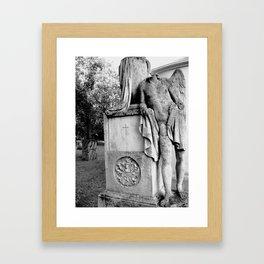 The Slovak Angel Framed Art Print