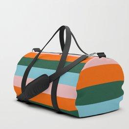 Color Strip_007 Duffle Bag