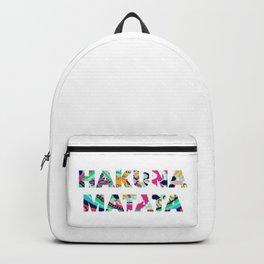 Hakuna Matata Backpack