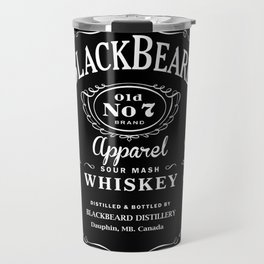 BlackBeard Apparel Whiskey Travel Mug
