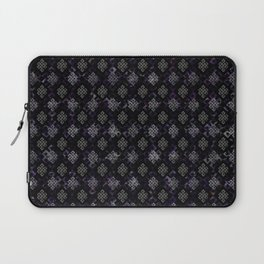 Endless Knot pattern - Silver and Amethyst Laptop Sleeve