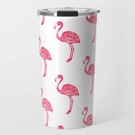 American Flamingo (pink) Travel Mug