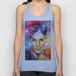 Portrait of Legend Unisex Tank Top