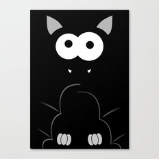 Minimal Bat Canvas Print