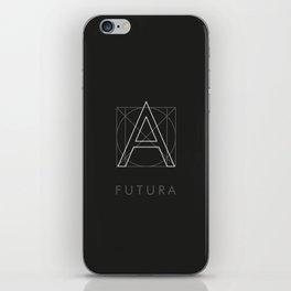 Futura Black iPhone Skin