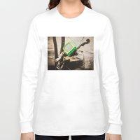 bass Long Sleeve T-shirts featuring Bass TV by Marko Köppe