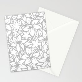 Moloaa Bay Hawaiian Hibiscus Aloha Shirt Print Stationery Cards
