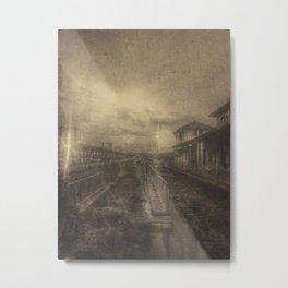 | Black Town | Metal Print