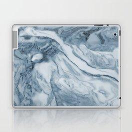 Cipollino Azzurro blue marble Laptop & iPad Skin
