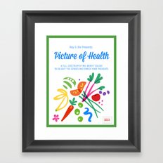 Picture of Health Framed Art Print