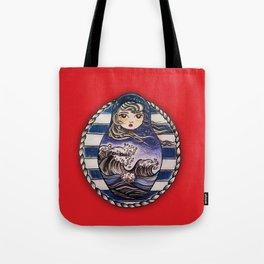 SeaDoll Tote Bag