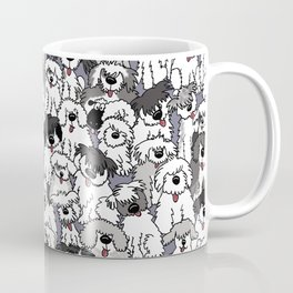 Original Sheepdogs On Watch Coffee Mug