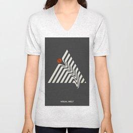 Visual Melt Unisex V-Neck