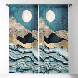 Indigo Sea Blackout Curtain