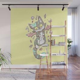 Monster Cat Wall Mural
