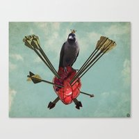 arrows Canvas Prints featuring Arrows by Seamless