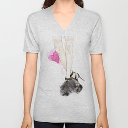 Jimmy Choo Unisex V-Neck