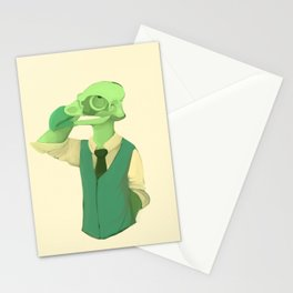 bird babe Stationery Cards