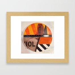 13 deep Framed Art Print