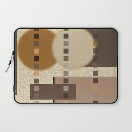 Neutral Abstract Laptop Sleeve