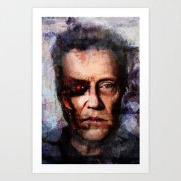 Christopher Walken Terminator Art Print