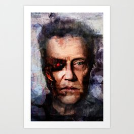 Christopher Walken Terminator Art Print