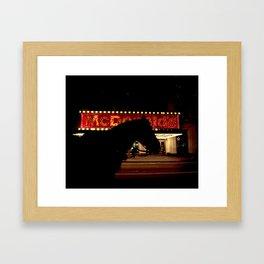 McHorse Framed Art Print