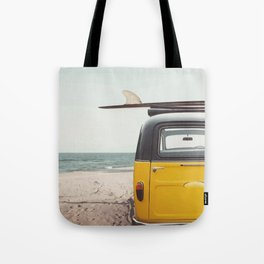 Summer surfing Tote Bag