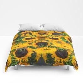 Sun Flowers Comforters