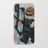avenger iPhone & iPod Cases featuring Avenger Lego by Toys 'R' Art