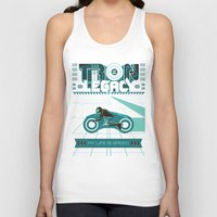 tron Tank Tops featuring Tron Legacy by HomePosters