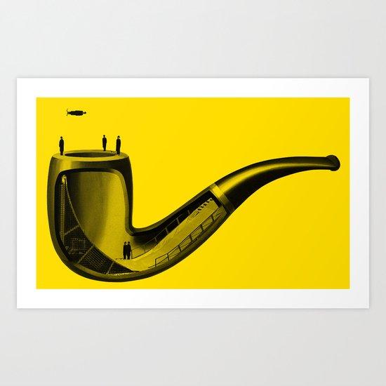Half Pipe Art Print