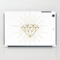 diamond iPad Cases featuring Diamond by Hipster