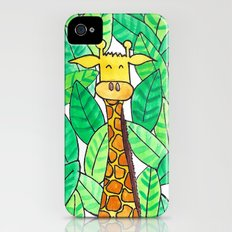 Watercolor Giraffe iPhone (4, 4s) Slim Case