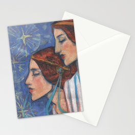 Tribute to Art Nouveau Stationery Cards