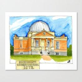 Cincinnati Observatory 1878 Canvas Print