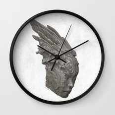 Stone Angel Wall Clock