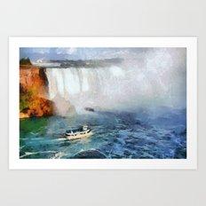 Niagara Falls - Maid of the Mist Art Print