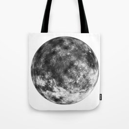 Isolated Moon Tote Bag