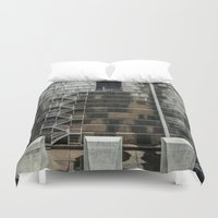 industrial Duvet Covers featuring Industrial  by Novella Photography