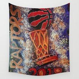 raptors 3,champion,basketball,gold,poster,wall art,2019,winners,NBA,finals,toronto,canada,painting Wall Tapestry