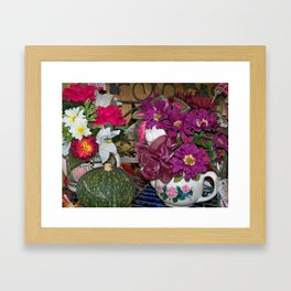 Thankful Blitz Framed Art Print