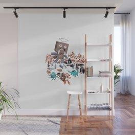 Robotron Wreaks Havoc Wall Mural