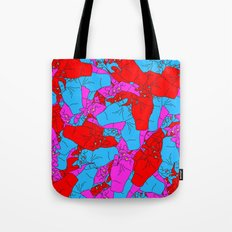 Bed of Hands Tote Bag