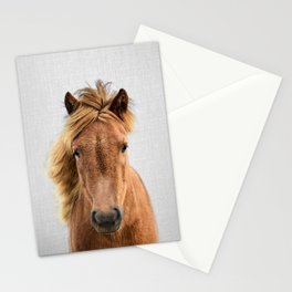Wild Horse - Colorful Stationery Cards