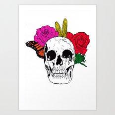 Skull I Art Print