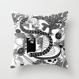 El Tequila Throw Pillow
