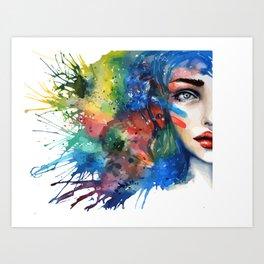 Half Mina Art Print