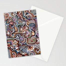 Rayas y rulos Stationery Cards