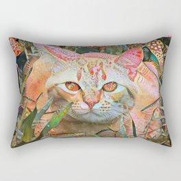 Alice's Cat Rectangular Pillow